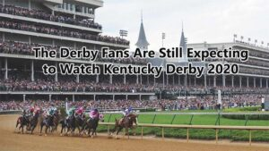 Kentucky Derby 2020 fans