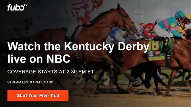 Kentucky Derby 2020 Live Free on fubotv
